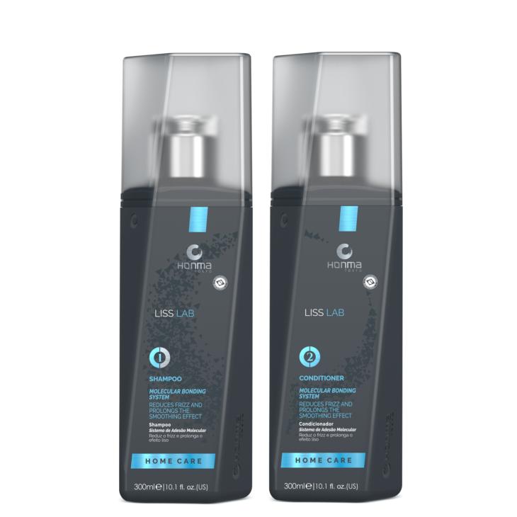 Set Liss Lab 300ml - Sampon si Balsam anti Frizz, netezire si hidratare intensiva